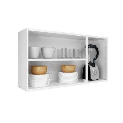 Armário de Cozinha Luce em Aço 3 Portas - Itatiaia - BRANCO