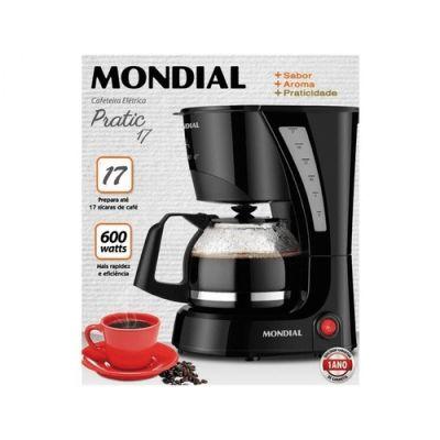 Cafeteira Elétrica Mondial Pratic 17 Xícaras NC25 127v