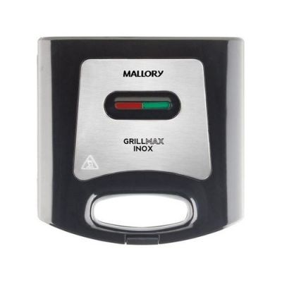 Sanduicheira Mallory Grill Max Inox