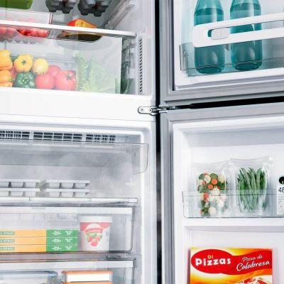 Geladeria/Refrigerador  Frost Free 397 litros com Freezer Embaixo CRE44