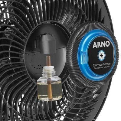 Ventilador Arno Silence Force Repelente 3 Vel. Preto 127V VF55