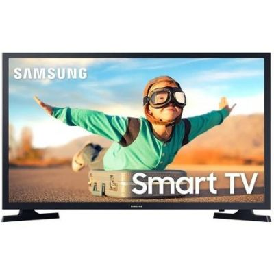 "TV Smart Samsung Led 32"" Wi-Fi HDMI USB Conversor Digital - LH32BETBLGGXZD"