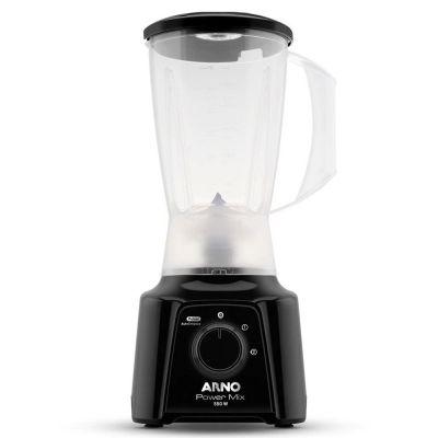 Liquidificador Arno Power Mix LQ10 com 2 Velocidades e Função Pulsar 550W Preto