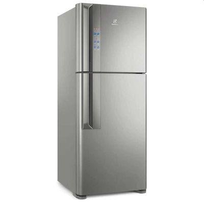 Refrigerador Electrolux Frost Free TF55S Top Freezer Platinum - 431L