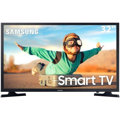 "TV LED Smart 32"" HD Samsung T4300 c/ HDR, Sistema Operacional Tizen, Wi-Fi LG"