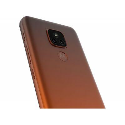 "Smartphone Motorola Moto E7 Plus 64GB Bronze Âmbar - 4G Octa-Core 4GB RAM 6,5"" C"