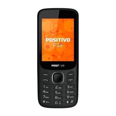 """Celular Positivo P38 3G 2.8"""" - Preto"""