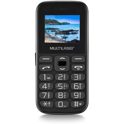 CELULAR VITA TELA 1.8 DUAL CHIP 2G USB BLUETOOTH PRETO – P9120