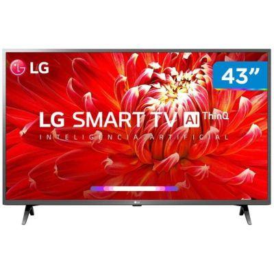 "TV LED 43"" Smart LG 43LM6300PSB Full HD Wi-Fi - Inteligência Artificial"