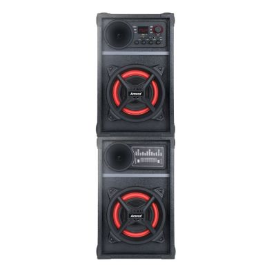 Caixa Amplificada Amvox Bluetooth USB MicroSD Auxiliar Bivolt 800W ACA 801 PODER