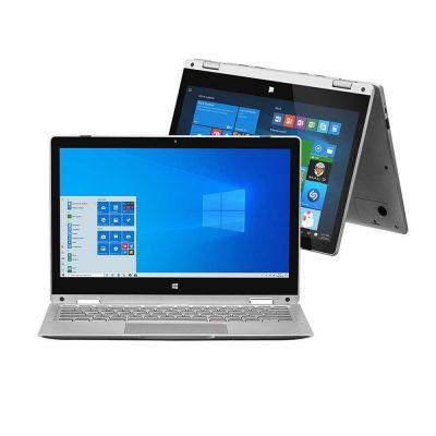 """Notebook 2 em 1 Intel Pentium 4GB RAM 64GB Multilaser M11W Tela 11.6"""" Windows 10"""