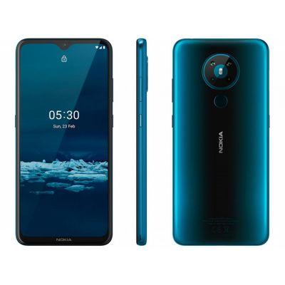 """Smartphone Nokia 5.3 128GB Verde 4G Octa-Core - 4GB RAM 6,55"""" Câm. Quádrupla"""
