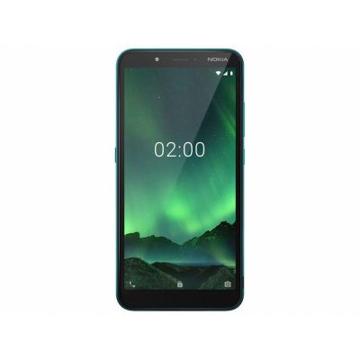 "Smartphone Nokia C2 16+16GB Verde 4G 1GB RAM 5,7"" - Câm. 5MP + Selfie 5MP"
