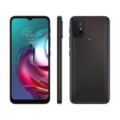 """Smartphone Motorola Moto G30 preto 128GB  4GB RAM Tela 6,5"""" Câmera Quádrupla"""