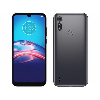 "Smartphone Motorola Moto E6i 32GB Cinza Titanium - 4G 2GB RAM Tela 6,1"""