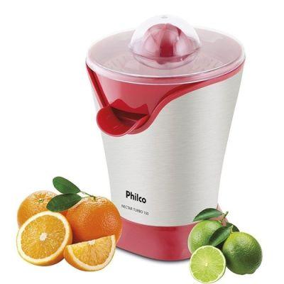 Espremedor De Frutas 127 V Vermelho E Branco Nectar Turbo 100 Philco