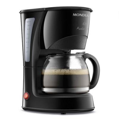 Cafeteira Elétrica Mondial Pratic, 127v, 600w, Preta, Cn-01-20x