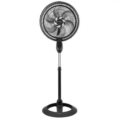 Ventilador de Coluna Britânia Turbo BVC450 47cm, 155W, 6 Pás Preto