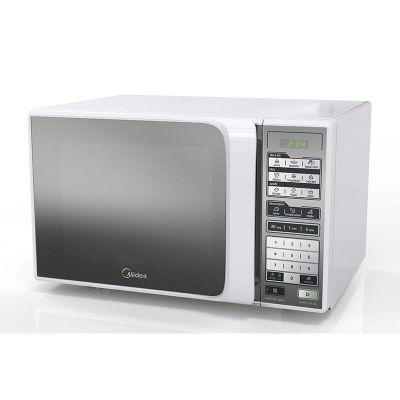 Forno Microondas Midea 31 Litros Branco Espelhado MTFE41 - 110V