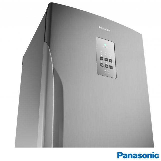 Refrigerador Panasonic NR-BB53PV3X F. Free Tecnologia Inverter Aço Escovado 425L