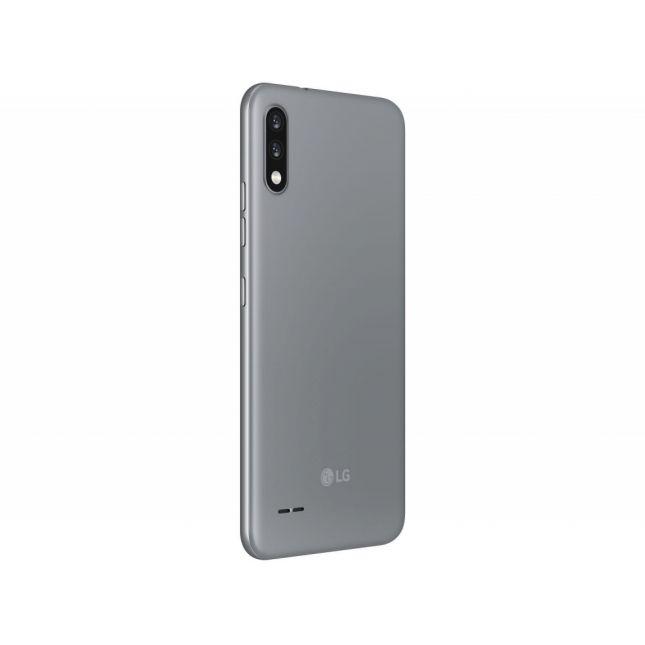 "Smartphone LG K22 32GB Titan 4G Quad-Core 2GB RAM - Tela 6,2"" Câm. Dupla + Selfi"