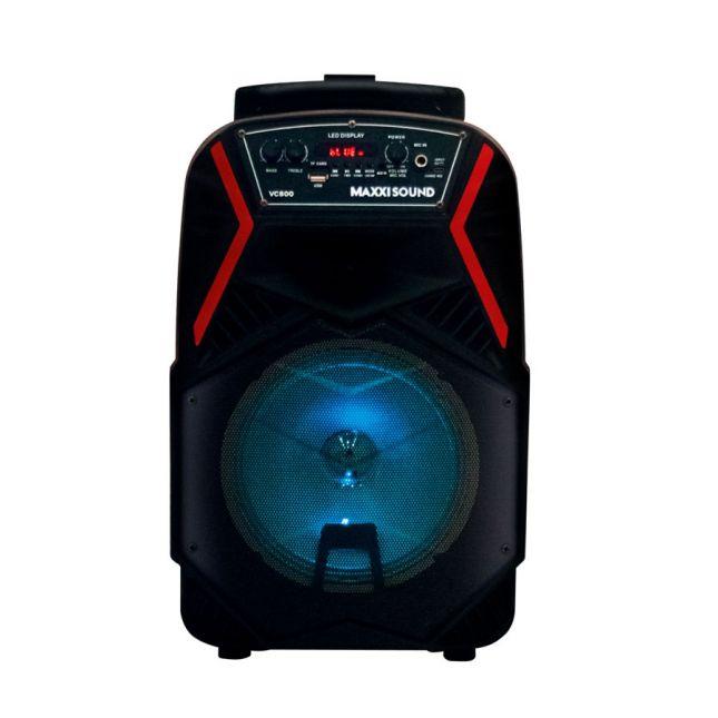 Caixa de Som Amplificada VC800 Easybox 180W Bivolt Maxxisound